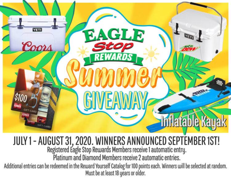 Eagle Stop Rewards Summer Giveaway