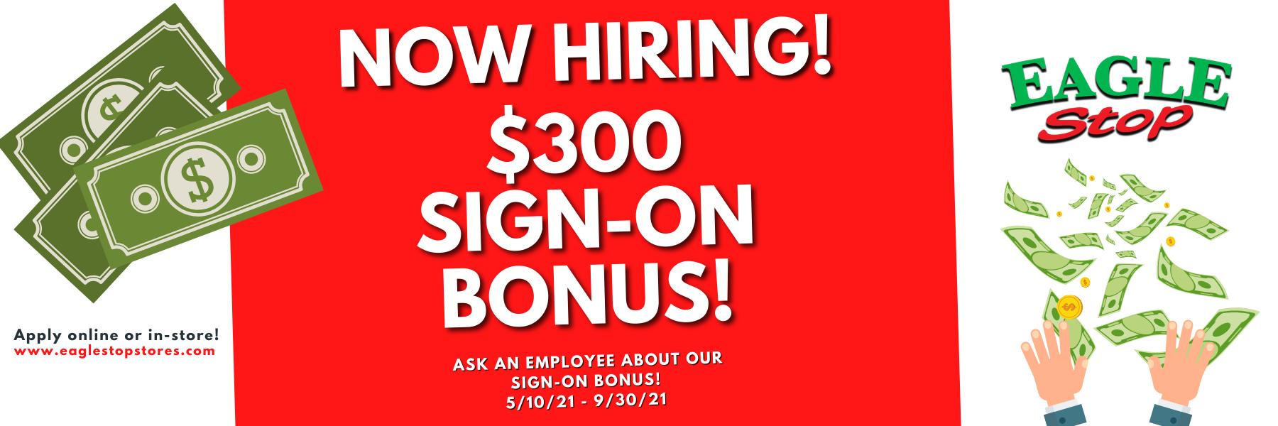 Copy of Sign-On Bonus